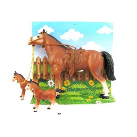 Rodzina koni duża