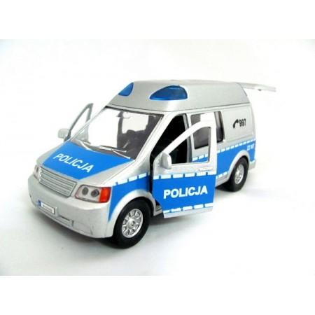 Policja VAN św. dźw. metal