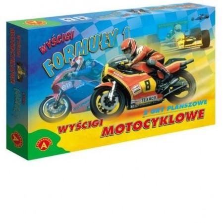 Gra Wyścigi FORMUŁY1 i Motocyklowe