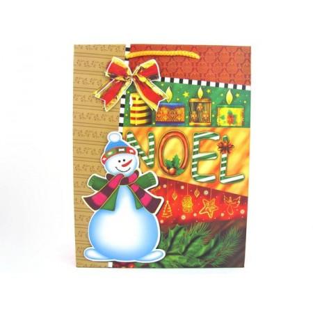 Torebka prezentowa świąteczna