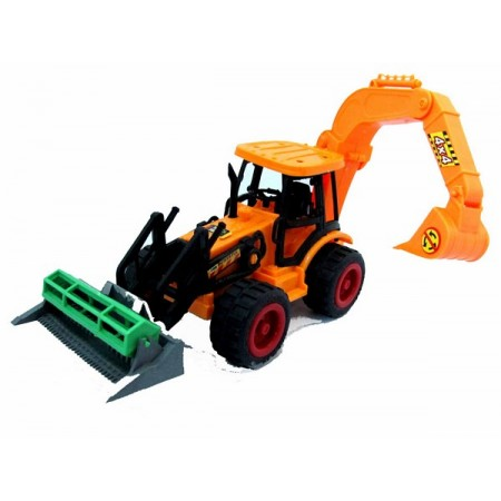 Traktor spychacz koparka
