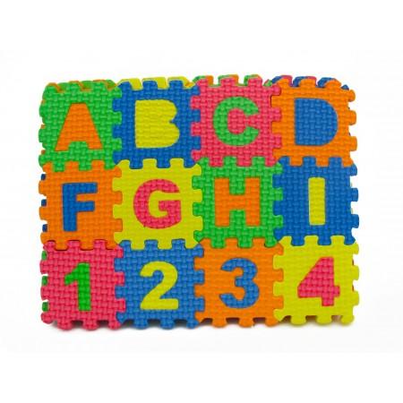 Małe puzzle piankowe