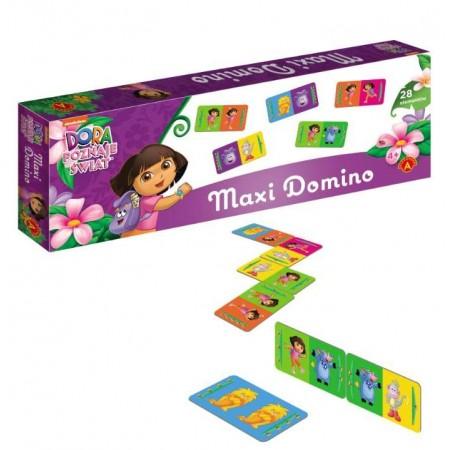 Domino MAX Dora poznaje świat
