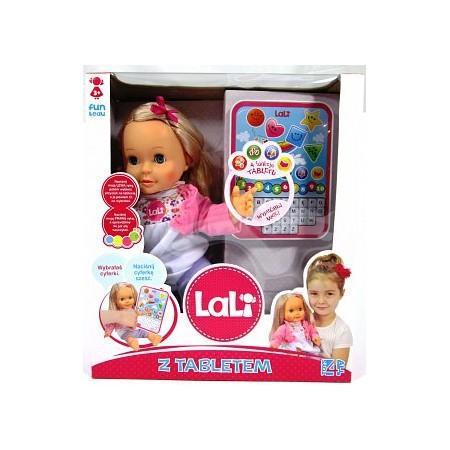 Lalka LALI z tabletem