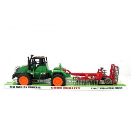 Traktor maszyna talerzówka