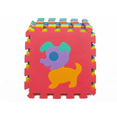 Puzzle piankowe zwierzęta