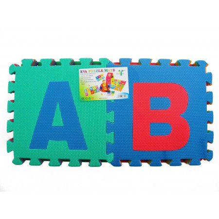 Puzzle piankowe alfabet
