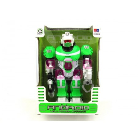 Robot b/o zielony