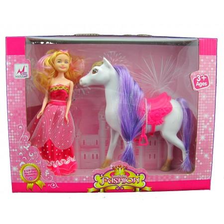 Lalka z koniem