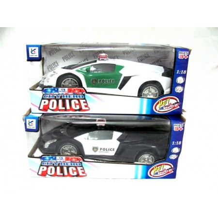 Auto policja baterie