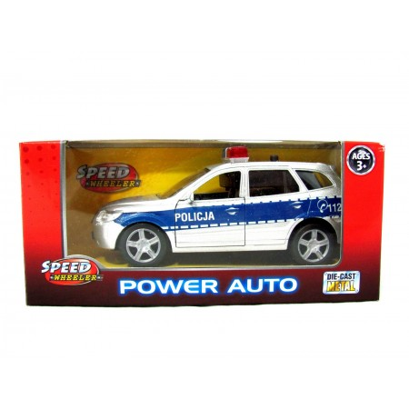 Auto policja metal