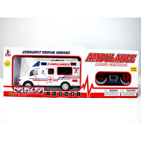 Auto na radio ambulans