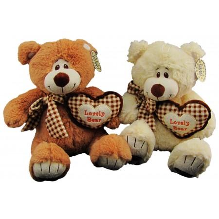 Miś z sercem Lovely Bear