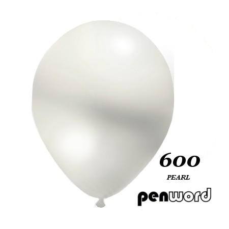 """Balon perła 10"""" biały 100szt."""