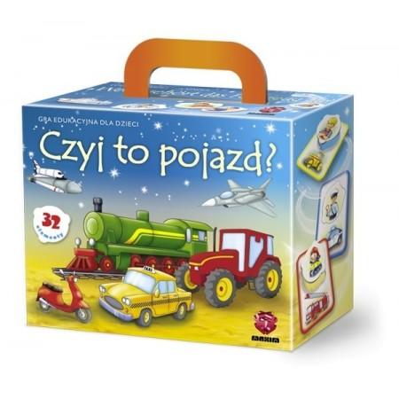 Gra edukacyjna - puzzle - Czyj to pojazd ?