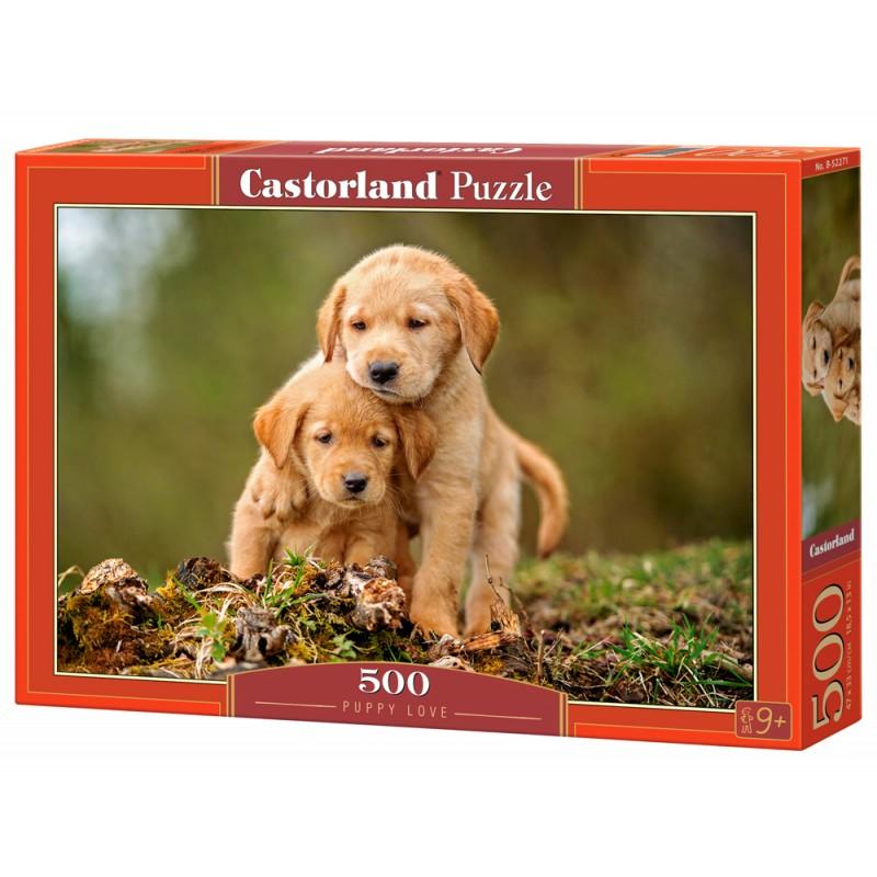 Puzzle 500 el. Puppy Love - Szczenięca miłość