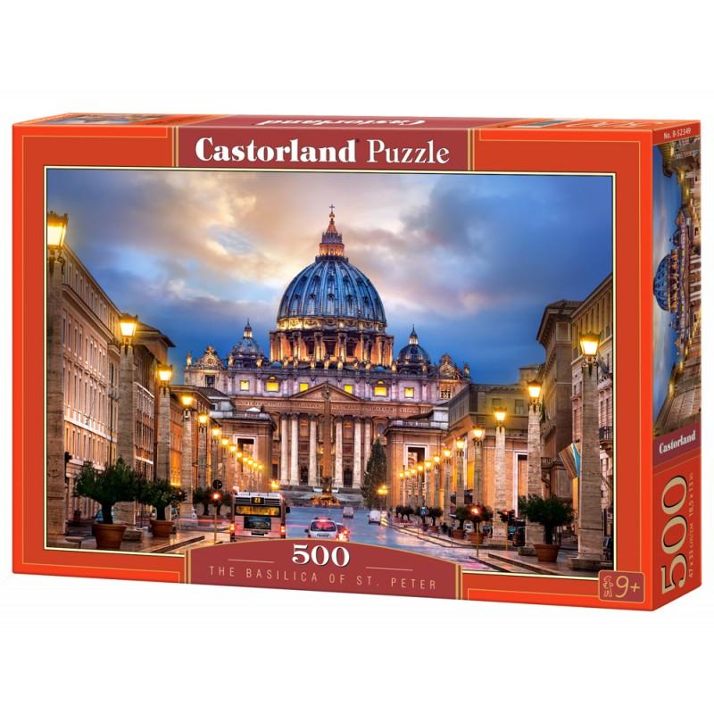 Puzzle 500 el. The Basilica of St. Peter - Bazylika Św. Piotra