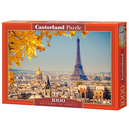 Puzzle 1000 el. Autumn in Paris- Jesień w Paryżu