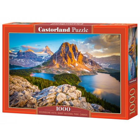 Puzzle 1000 el. Assinibone Vista, Banff National Park, Kanada
