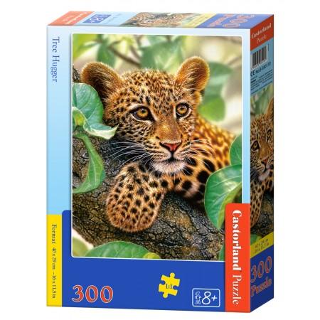 Puzzle 300 el. Tree Hugger - Tulący drzewo
