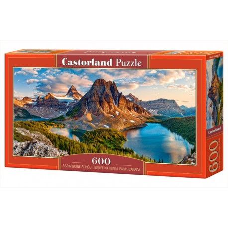 Puzzle 600 el. Assiniboine sunset, Banff, Canada