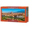 Puzzle 600 el. Panorama of Florence - Panorama Florencji