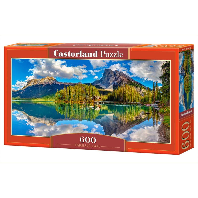 Puzzle 600 el. Emerald Lake - Jezioro Emerald