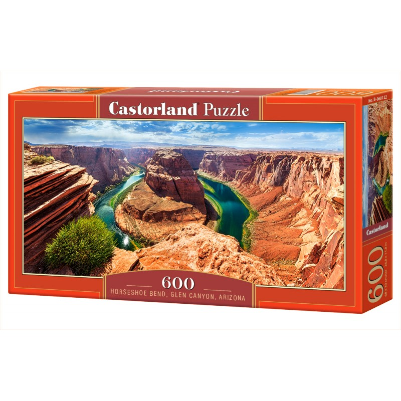Puzzle 600 el. Horseshoe Bend, Glen Canyon, Arizona