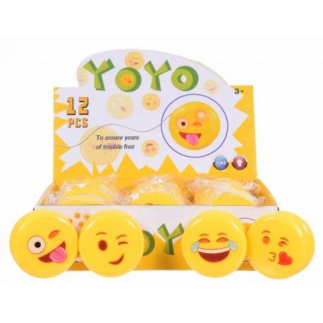 YO-YO Emotikon ze światłem