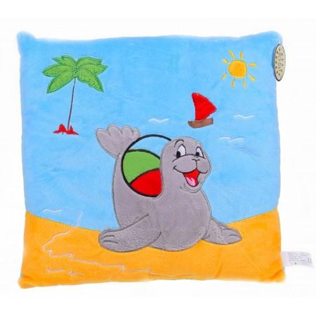 Poduszka foka z piłką