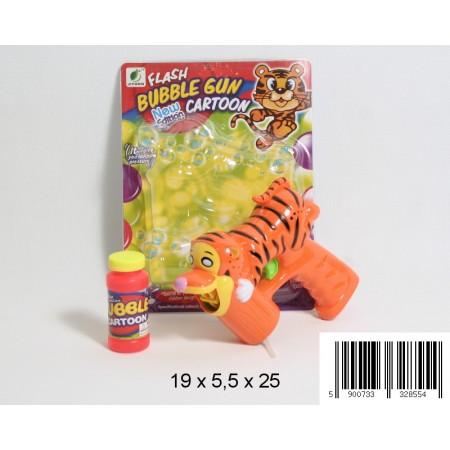 Pistolet na bańki tygrysek