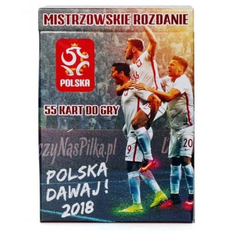 Karty do gry PZPN - mistrzowskie rozdanie 2018