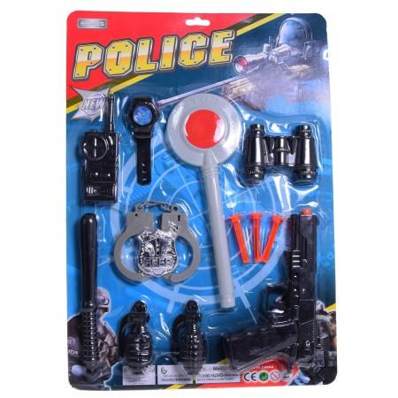 Zestaw policyjny z lizakiem