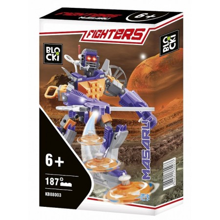 Klocki Blocki Fighters Masaru 187el. KB88003