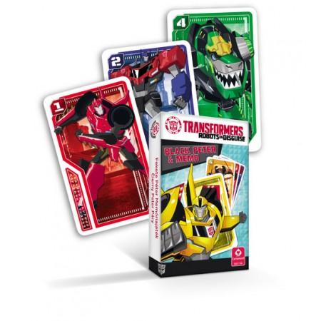 Karty piotruś transformers