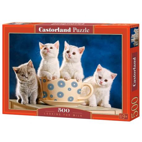 Puzzle 500 el. Looking for milk - Szukanie mleka