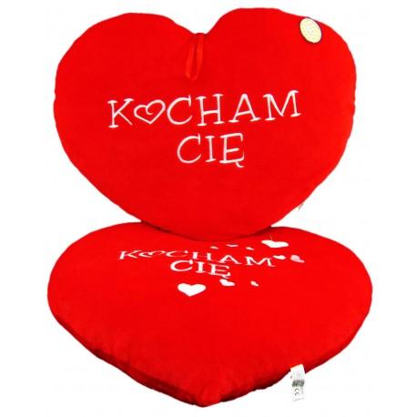 Serce Kocham Cię drukowane wielkie Walentynki