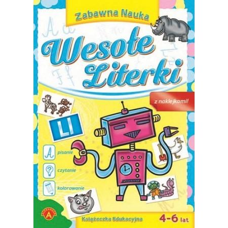 Książeczka edukacyjna Wesołe Literki