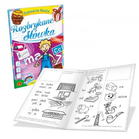 Książeczka edukacyjna - Rozbrykane słówka