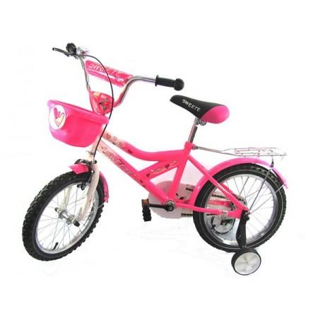 Rower SERCA różowy 16