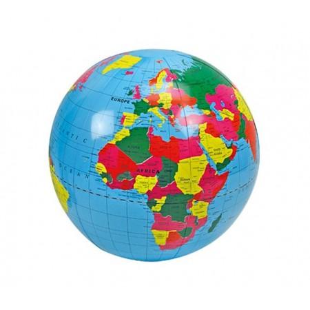 Piłka gumowa Globus