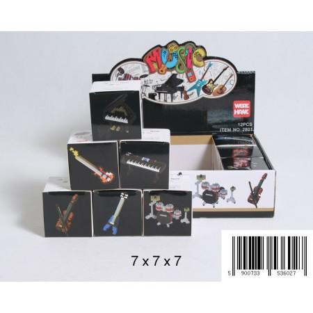 Klocki 3D instrumenty