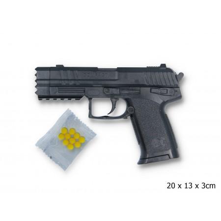 Karabin sprężynowy- imitacja broni na kulki.