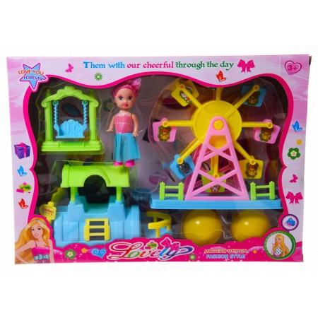 Plac zabaw z lalką