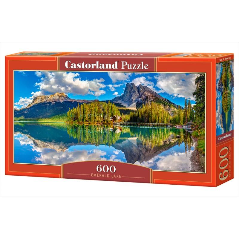 Puzzle 600 el. Emerald Lake - Jezioro Emerald
