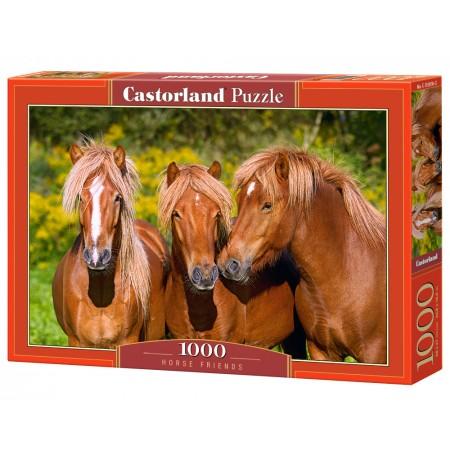 Puzzle 1000 el. Horse Friends - Końscy przyjaciele