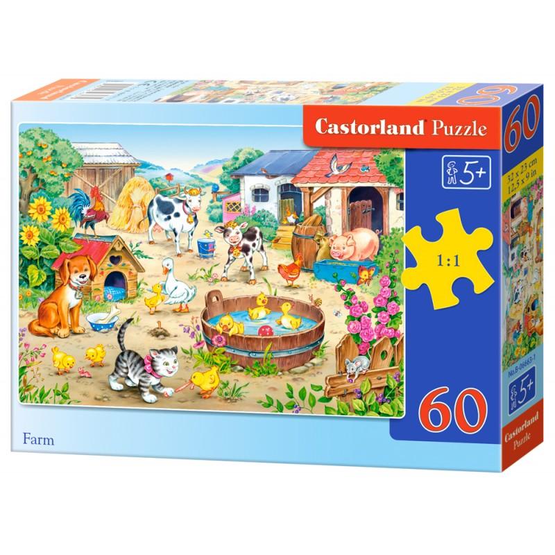 Puzzle 60 el. Farm - Farma