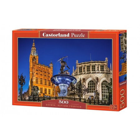 Puzzle 500 el. Gdansk. Neptune Fountain