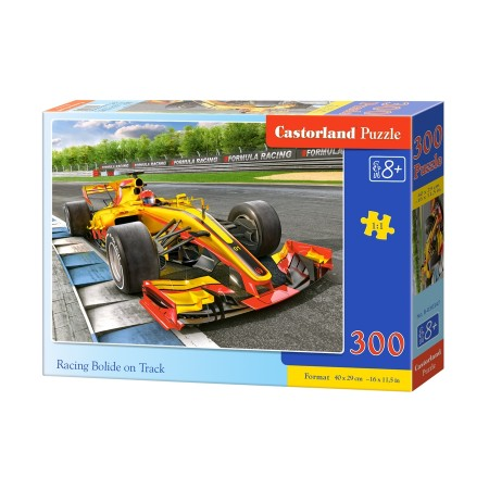 Puzzle 300 el. Racing Bolide on track - Bolid formuły na torze