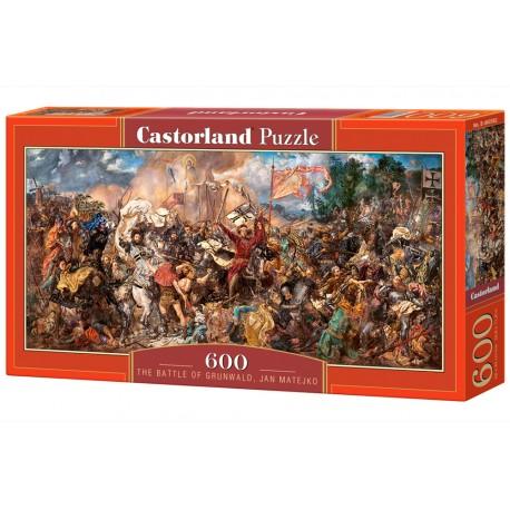 Puzzle 600 el. Obraz Bitwa pod Grunwaldem Jan Matejko